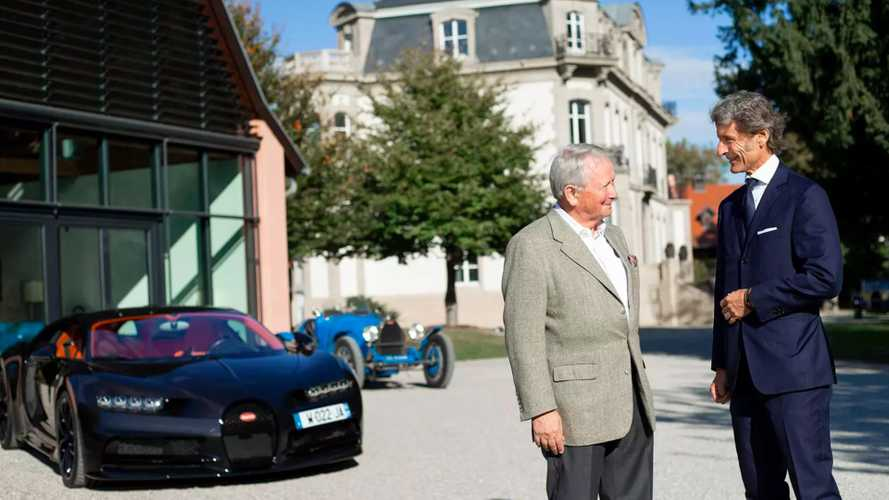 Quand Porsche rend visite à Bugatti