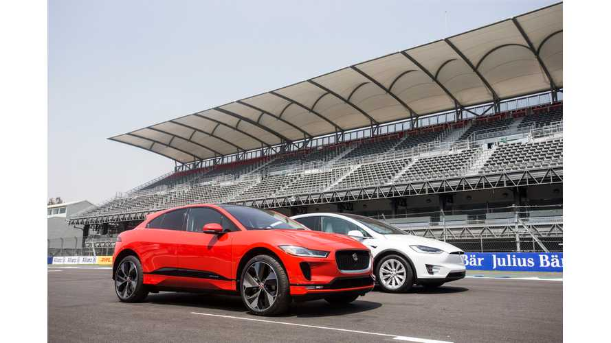 Jaguar I-Pace Competes With Tesla Model X Or Model 3? Maybe Both?