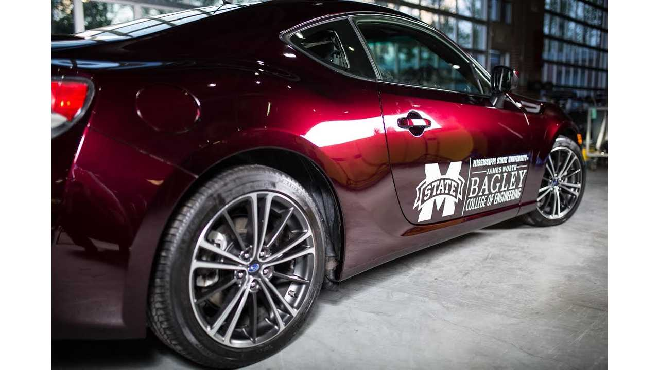 Subaru BRZ Plug-In: Mississippi State's Car Of The Future