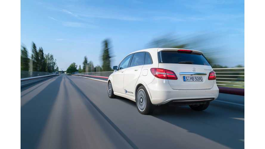 Autocar Reviews Mercedes-Benz B-Class Electric Drive