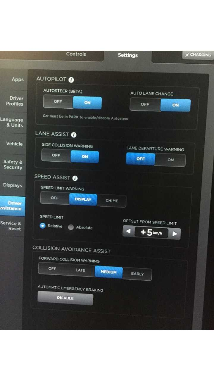 Auto-Pilot button returns to Model S in Hong Kong after latest update.