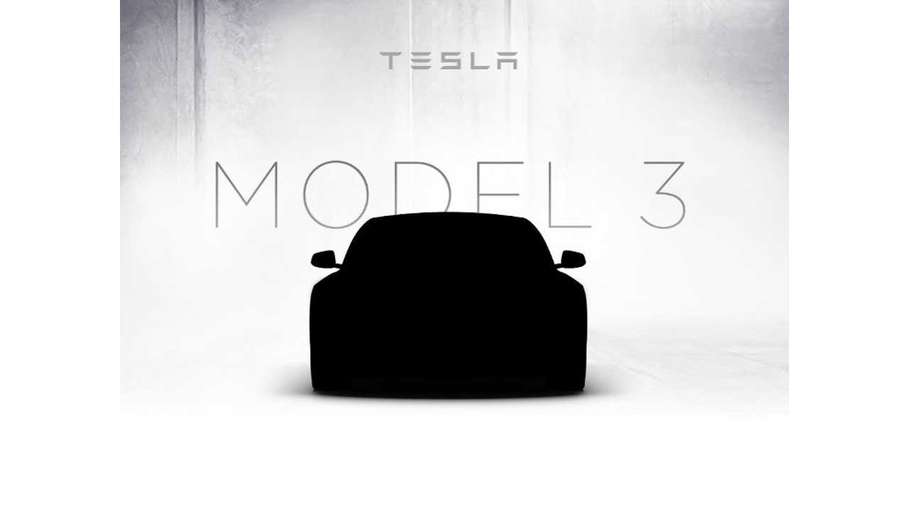 It's Just A Shadowy Image Of A Tesla Model S - No Model 3 Here (w/video)