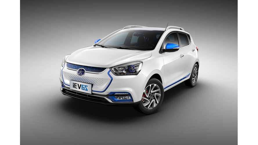 China's JAC Deepens Tie With Battery Maker Guoxuan