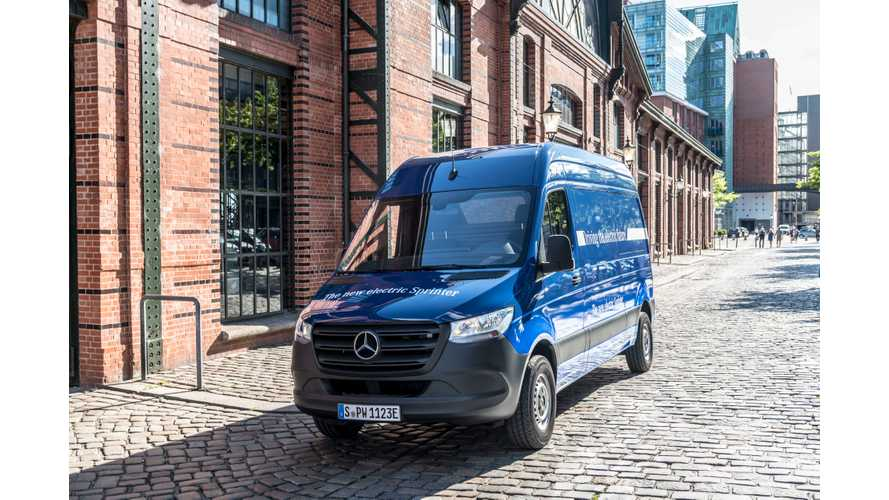 UPDATE: With Tesla, Long-Range Mercedes-Benz eSprinter Could Become Real