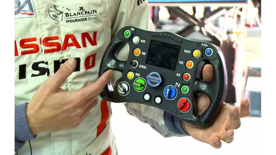 Nissan ZEOD RC Steering Wheel Controls - Video