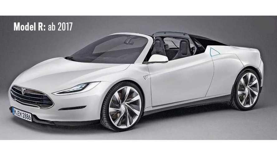 Next-Gen Tesla Roadster To Be Called Tesla R - Will Arrive In 2017?
