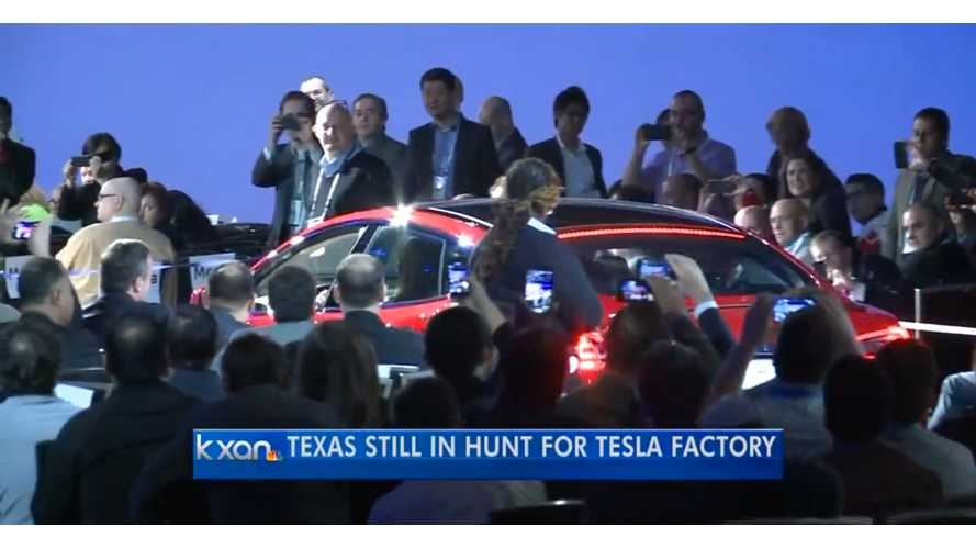 Texas Continues Its Pursuit Of Tesla Battery Gigafactory - Video