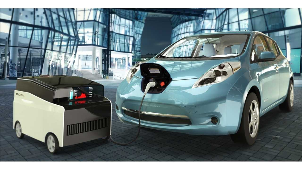 FreeWire Mobi Charger Puts Nissan LEAF Batteries To Use In Mobile Charging Unit (w/video)