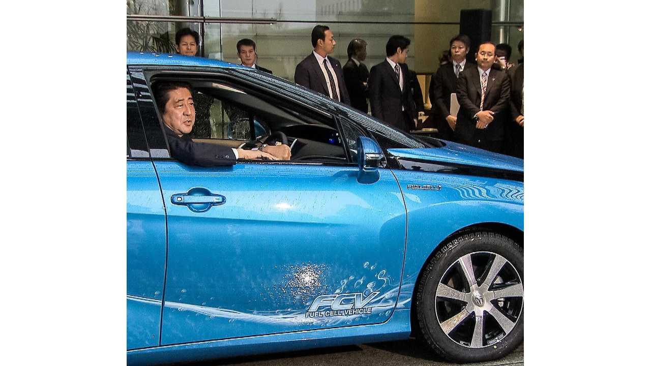 Toyota Delivers First Mirai (w/video)