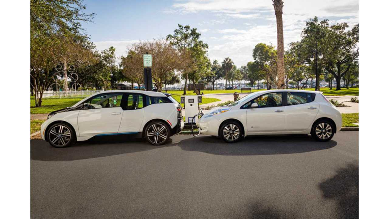Nissan & BMW Team Up To Deploy 120 Dual (CHAdeMO & CCS) Fast Chargers In U.S.