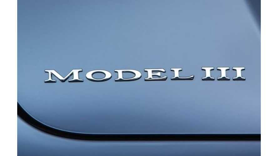 Tesla Reconfirms March Unveiling For Model 3