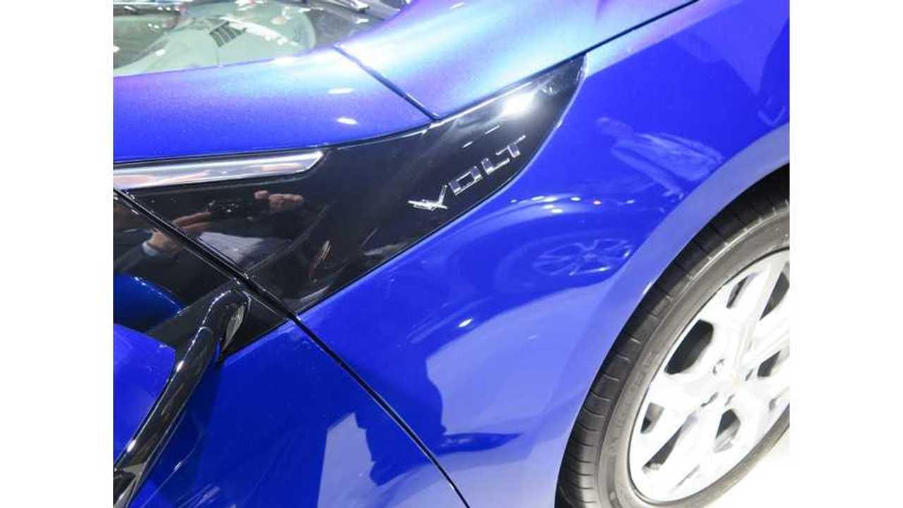 Chevrolet Volt Sales Rebound Slightly In US For April