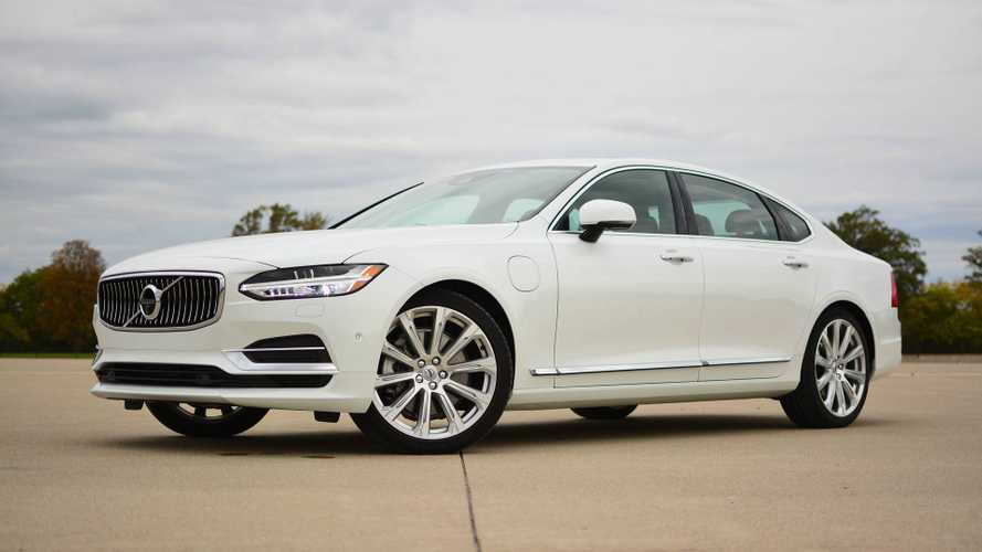Volvo S90 T8 Plug-In Hybrid Test Drive Review