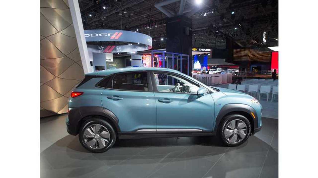 Hyundai Kona Electric At The 2018 New York Auto Show - Videos