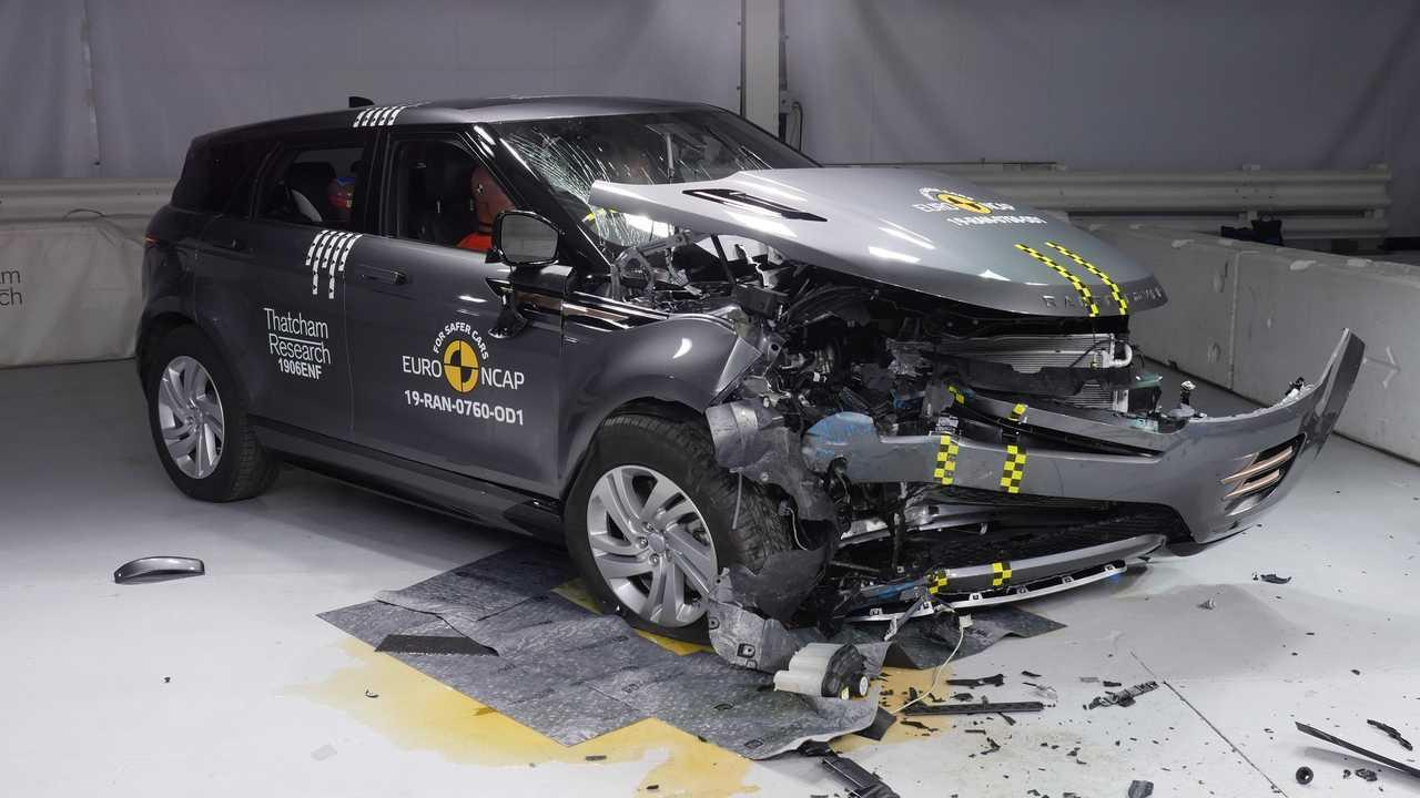Range Rover Evoque-Crashtest