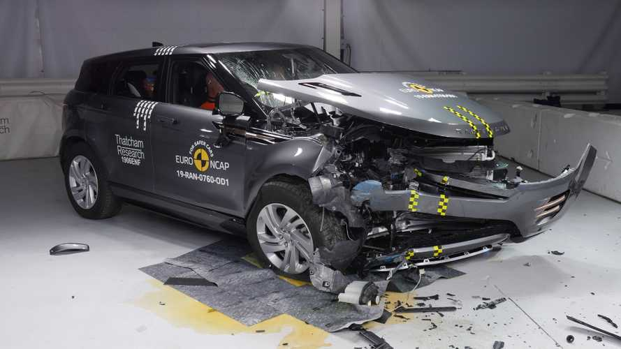 Range Rover Evoque crashes its way to 5-Star Euro NCAP rating
