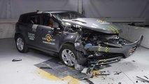 Range Rover Evoque crash test