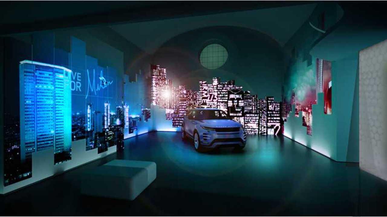 Copertina Range Rover Evoque, alla Milano Design Week è sostenibilità