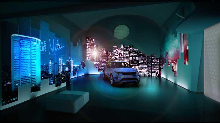 Range Rover Evoque, alla Milano Design Week è sostenibilità