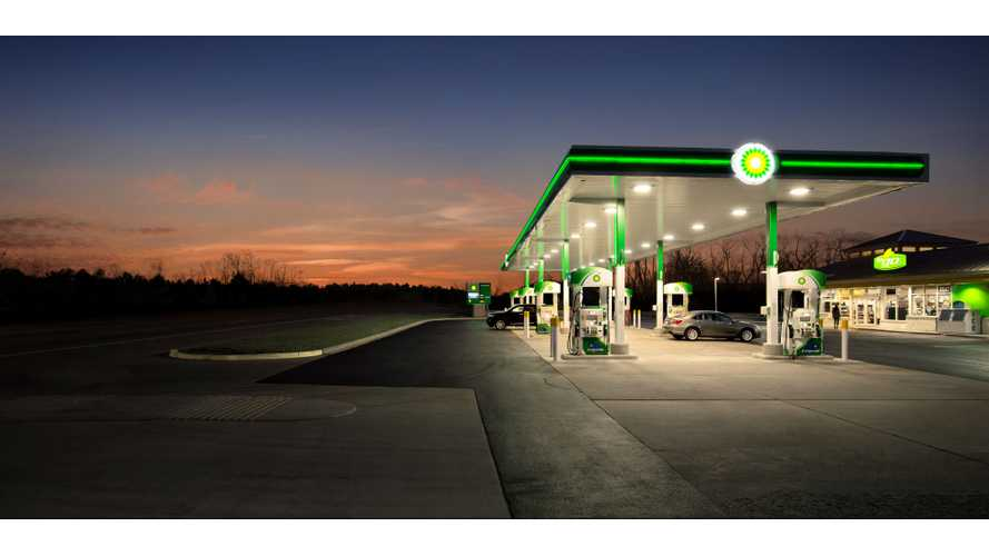 BP Trying To Partner With Automakers To Bring Charging To Gas Stations