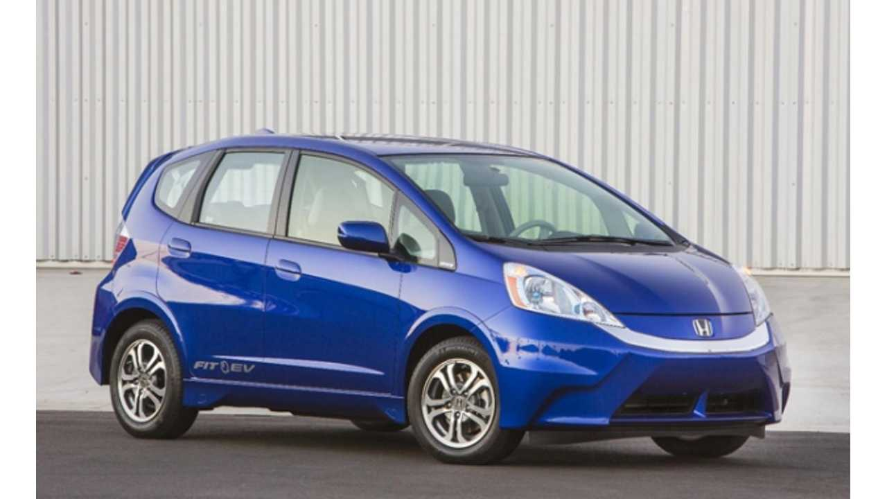 Honda Fit EV - available in the U.S. in 2012-2014