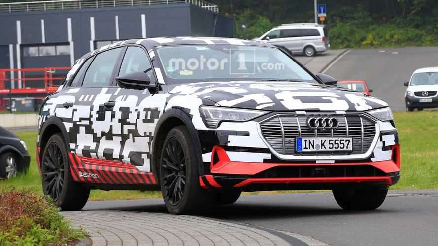 Audi E-Tron SUV Spied In As Close To Production Form Yet