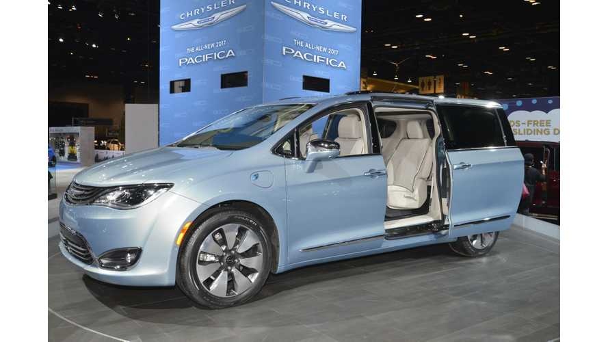 Chrysler Pacifica Plug-In Hybrid To Get LG Chem Battery, Build In Michigan