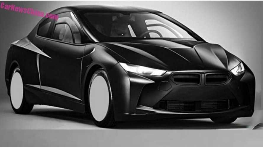 Plug-In Hybrid BMW Research Vehicle Revealed In Leaked Patent Drawings