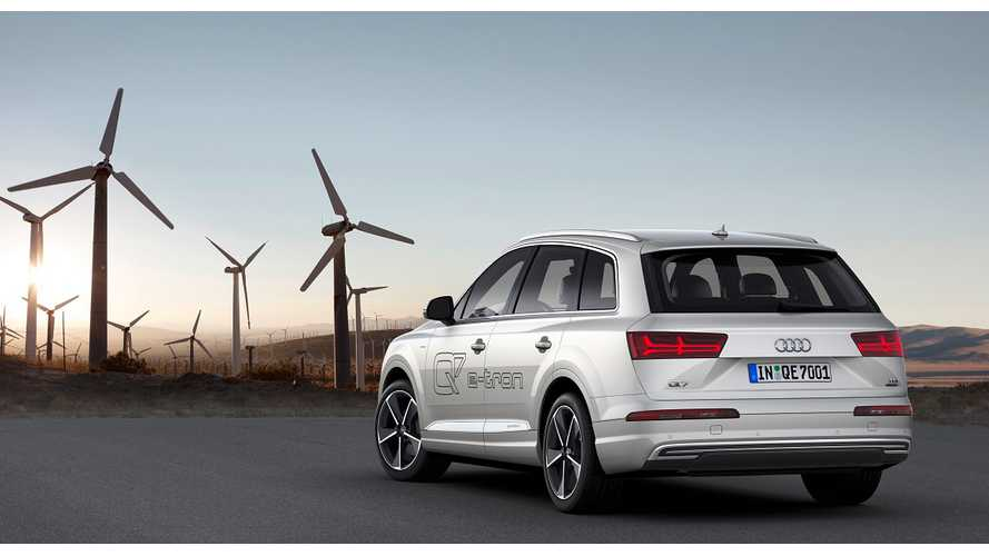 Audi Announces Full Specs And Pricing For Q7 e-tron TDI