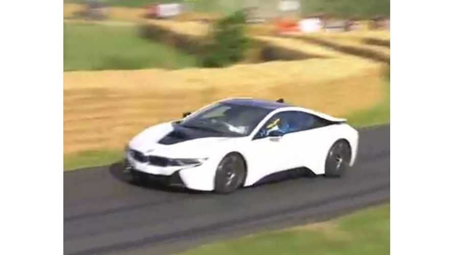 BMW i8 Driven At Goodwood Festival Of Speed - Video
