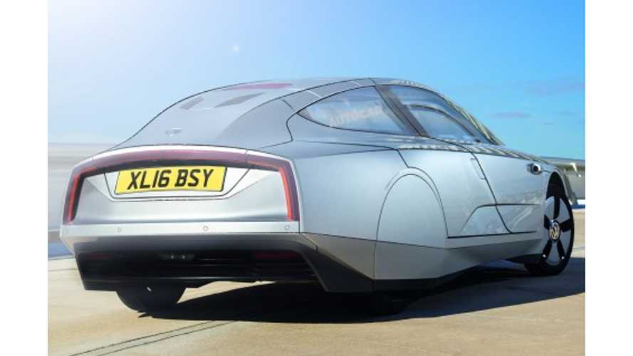 Volkswagen XL1 PHEV To Gain Rear Doors, Seat Four, Become VW XL2