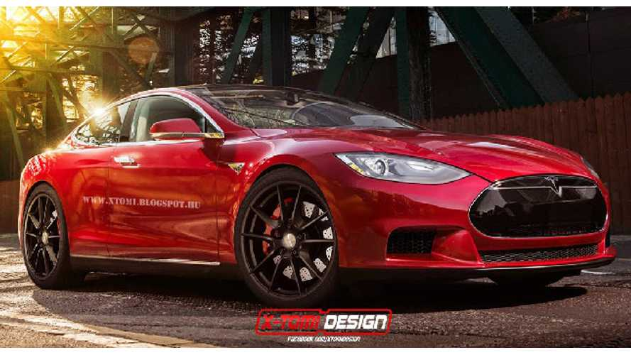 Tesla Model S Coupe Gets Rendered