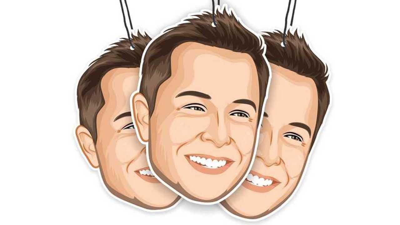 Elons Musk air freshener