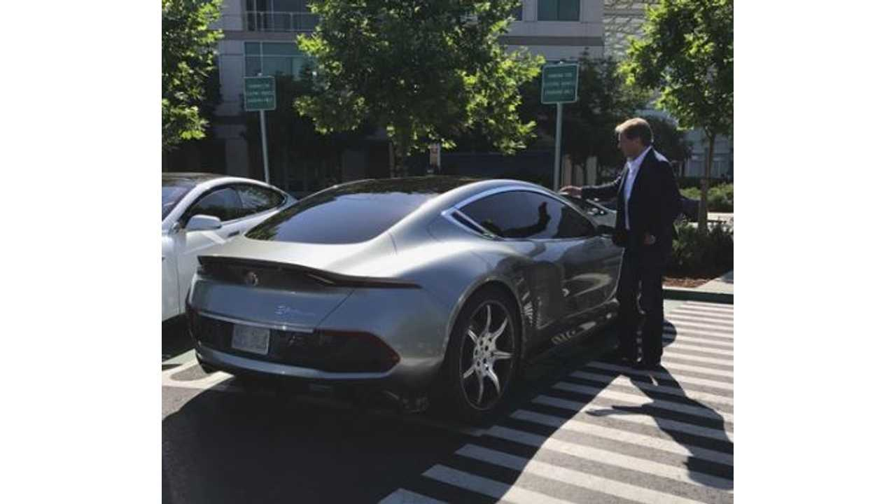 Fisker EMotion Spotted In The Wild, Reserve Yours Now