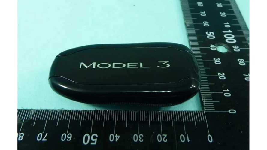 UPDATE: First Tesla Model 3 Key Fob Images Emerge