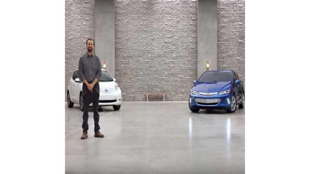 2016 Chevrolet Volt Ads Target LEAF, Prius - Videos