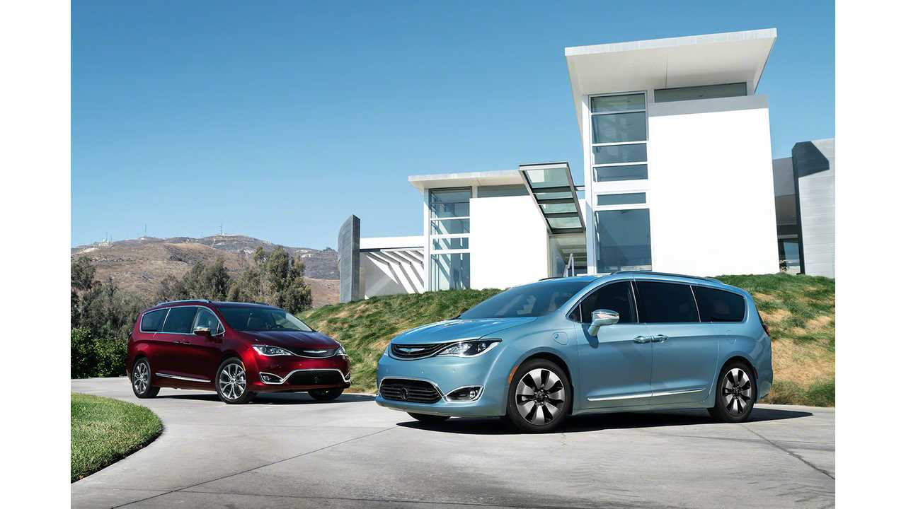 Additional Details On The 2017 Chrysler Pacifica Plug-In Hybrid
