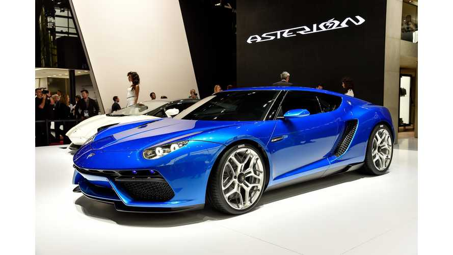 2014 Paris Motor Show: Lamborghini Asterion LPI 910-4 (Images + Videos)