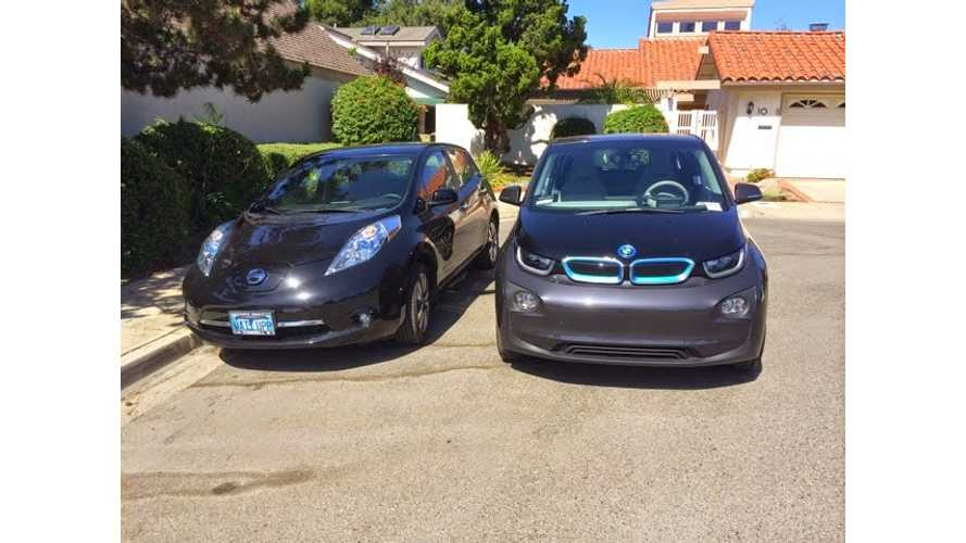 Nissan LEAF Owner Reviews BMW i3