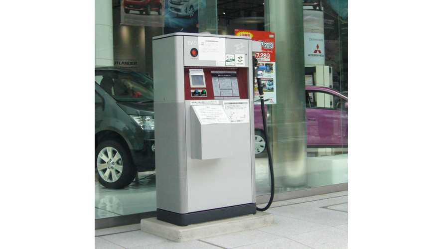 Mitsubishi To Install Fast Chargers At All 700 Dealerships In Japan