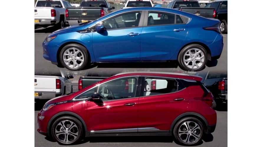 2019 Chevy Volt, Bolt EV Pass Automobile Mag #noboringcars Test