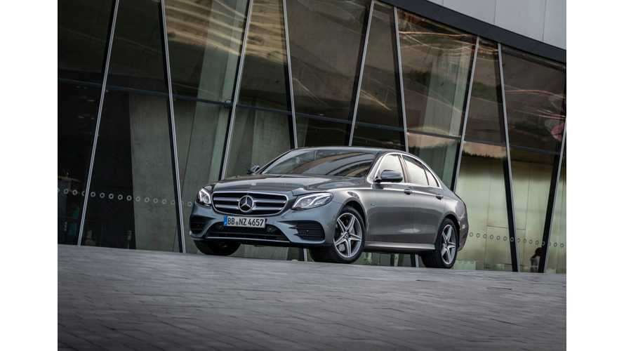 New Mercedes-Benz E-Class Gets Gasoline And Diesel PHEV Versions