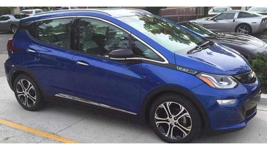 Production Intent Chevrolet Bolt Spotted, Arrival Timeline Re-Confirmed