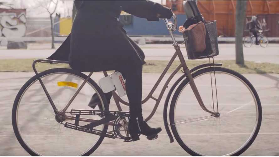 Semcon Develops Low Cost Motor That Makes Any Bicycle Electric
