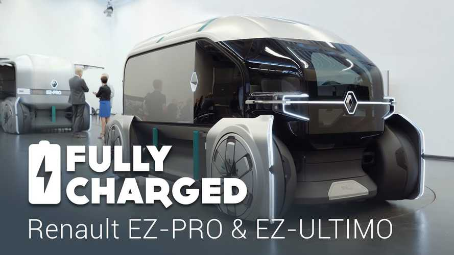 Fully Charged Checks Renault EZ-PRO & EZ-ULTIMO: Video