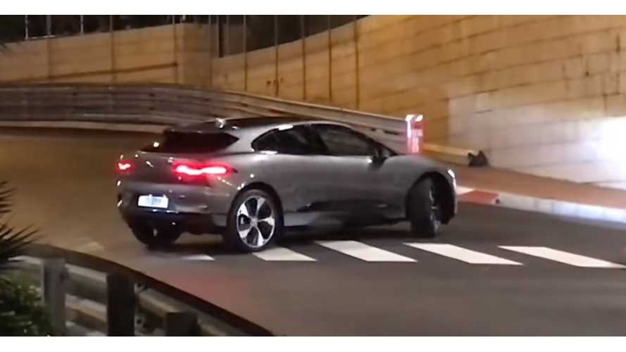 Jaguar I-Pace Spotted Minus Camouflage - Video
