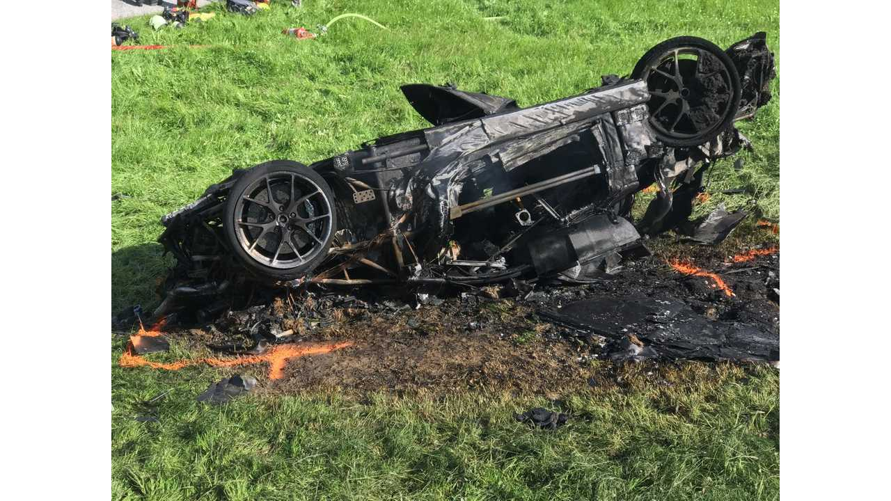 Richard Hammond In Serious Crash, Electric Rimac Concept One Totalled - Video