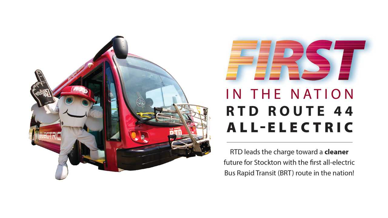 First All-Electric Bus Rapid Transit Route Now Open In U.S.