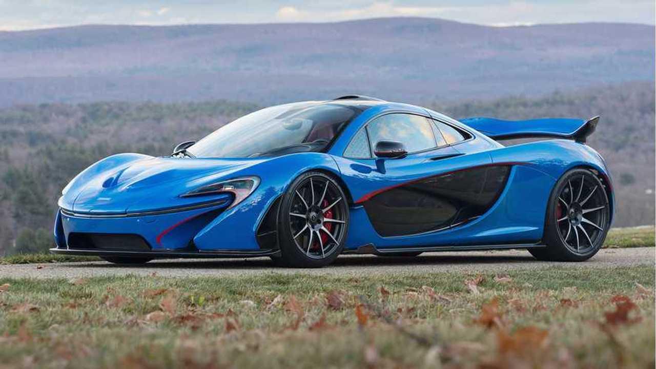 McLaren P1 Fetches $2.39 Million At Auction