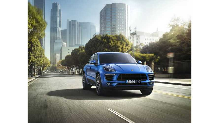 Porsche Macan EV Likely Part Of Volkswagen's Big Green Car Push